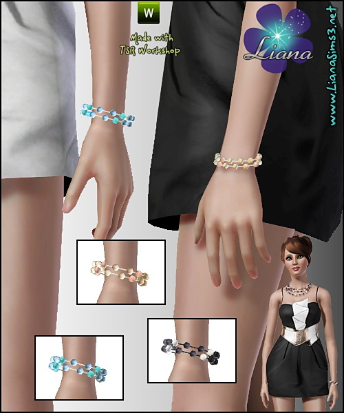Pearl bracelet available for teen, ya/adult and elder, recolorable, matching necklace available. Updated!!! IN PACKAGE FORMAT