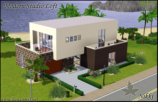 Liana sims3 everything for your sims 3 game free for Modern house design the sims 3