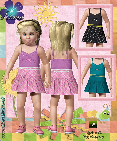 New toddler outfit, recolorable