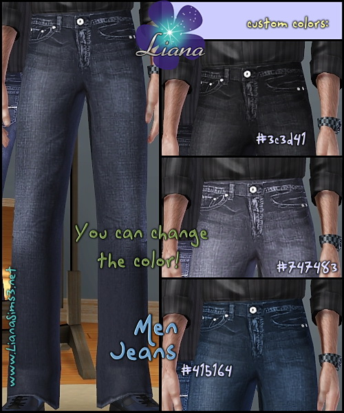 Package format! Guess Jeans For Men