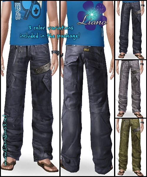 Package format! G-Star Scuba Elwood Record Jeans for men, available with 3 included color variations!