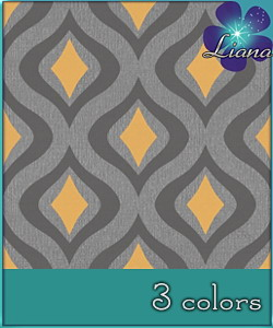Waves pattern in 3 colors - best suited for wallpapers and floors!
