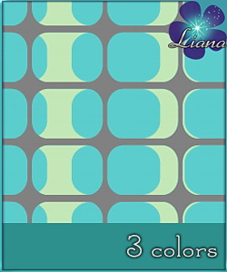 Pattern in 3 colors - best suited for wallpapers and floors! See the alternate colors for more combinations!