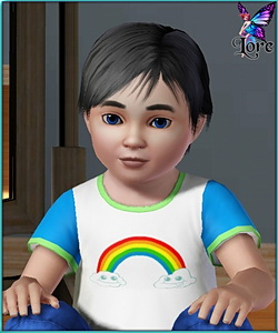 Raul Anthony - sims3 model - toddler boy