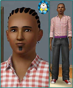 Gary Johnson - sims3 model - young adult male