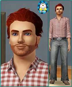 Mark Hudson - sims3 model - young adult male