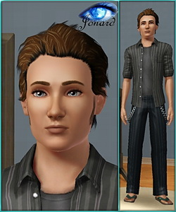 Josh - sims3 model - young adult male