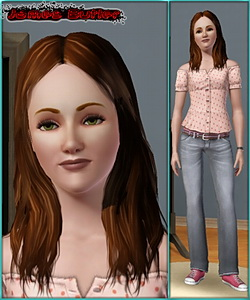 Sims 3 model - young adult female
